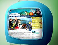 Diving Website Design