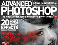 Advanced Photoshop Issue 105 Cover + Tutorial