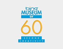 Young Glory Round 05: Bing 60sec Museum of Creativity