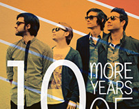 Barely Blind 10th Anniversary Poster