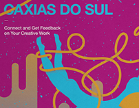 Cartaz Behance Review - Caxias do Sul