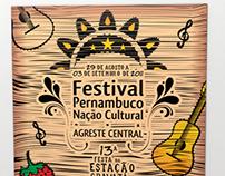 Projetos para festivais da FUNDARPE em 2012.