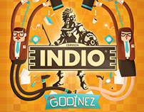 "Etiqueta INDIO ""Los Godínez"""