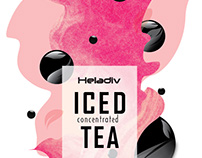Iced Tea Concentrate - Label Redesign