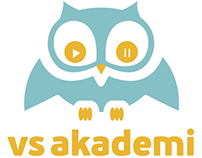 VS Akademi Logo Design