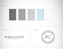 Porch Culture Branding Guide