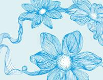 Spring Window Display Illustration