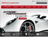034MotorSport Website design Proposed