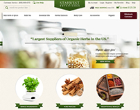 Starwest Botanical website design