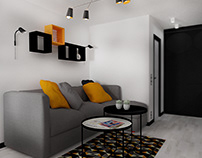 One room flat in Vilnius
