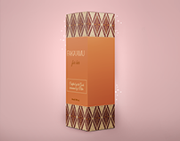 Faka'amu (package design for cosmetics)