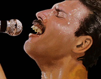 Freddie Mercury Portrait