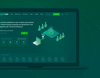 Inflr Coin Landing Page