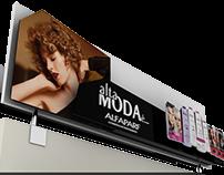 Projeto de Visual Merchandising para Alfaparf