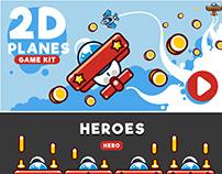 2D PLANES Game Kit