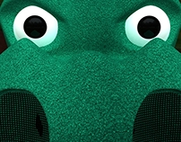 "Rex, mascot of the ""Anaheim Attackers"""