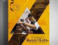 Workshop para barbeiro com Murilo Pastore