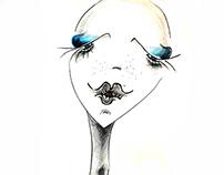 Fashion Face Illustrations