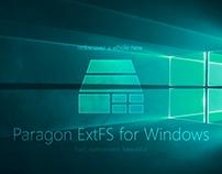 Paragon ExtFS for Windows. Redesign.