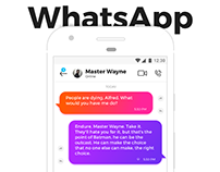 WhatsApp Redesign (Complexion Reduction)