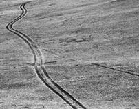 Roads of the Olkhon island