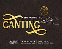 Canting - Display Serif Font (FREE FONT)