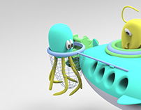 Deep Sea Adventure Submarine