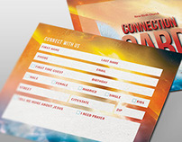 The Shout Church Connection Card