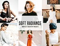 Soft Radiance Mobile & Desktop Lightroom Presets