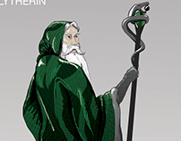 Slytherin & Gryffindor Character Concept
