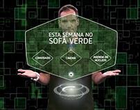 Promo Sofá Verde