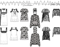 Sarrabiscos__ black and white collection for girl