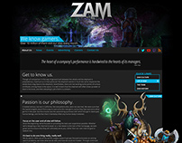 ZAM - Corporate Site