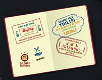 Culinary Backstreets Passport Illustrations