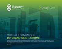 Développement économique grand Saint-Jérôme