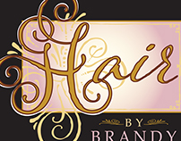 logo for Brandy Green's salon services