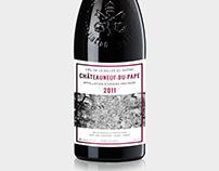 Chateauneuf-du-Pape / design opakowań