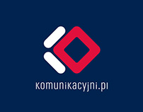 komunikacyjni.pl - projekt logo