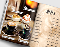 Coffeeshop Company Menu Design
