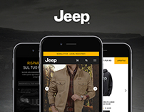 JEEP® OFFICIAL STORE | concept & design mobile website