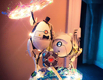 """Portal 2"" Cake Topper 2019"