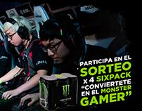 Marketing Post for NP Gaming Center - Monster Theme
