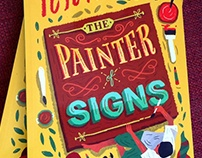 "R.K.Narayan's ""The Painter of Signs"" book cover"