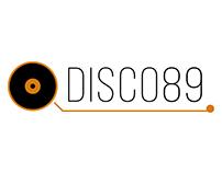 LOGOTIPO | Disco 89 - Benavente, España