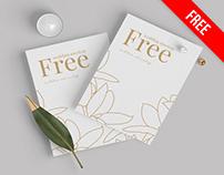 Free Wedding Mockup PSD Template