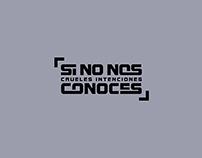 SI NO NOS CONOCES