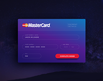 100 Days UI Challenge - Day 4: Payment Form