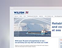 Wilson Shipping - Webdesign