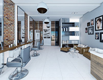 Men Salon Design