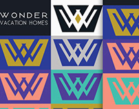 Wonder Vacation Homes rebranding project